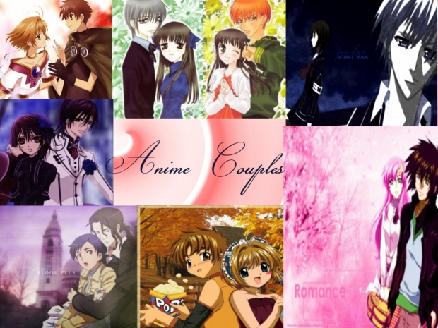 anime couples hugging. the Anime#39;s famous couples