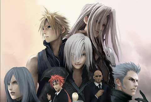Final Fantasy VII Advent Children - Samurais,Ninjas,& Knights